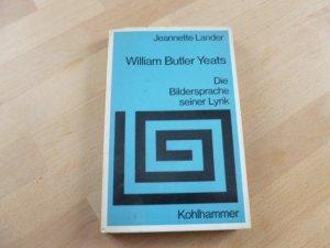 William Butler Yeats: Die Bildersprache seiner Lyrik. -