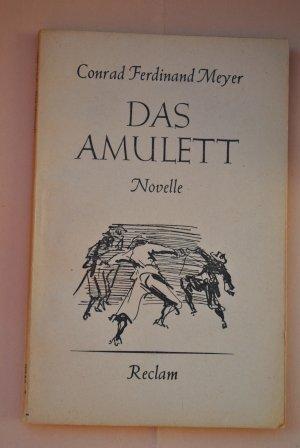 Das Amulett   -   Eine Novelle   -   Reclam Universalbibliothek Nr. 6943 -