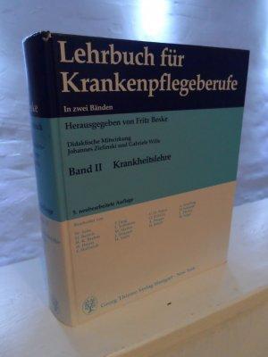 Lehrbuch für Krankenpflegeberufe : Band II: Krankheitslehre