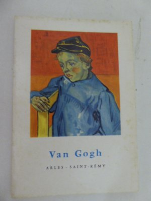 Van Gogh - Arles Saint Remy. Softcover