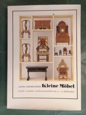 Gebrauchtes Buch U2013 Himmelheber, Georg U2013 Kleine Möbel   Modell , Andachts   Und Vergrößern