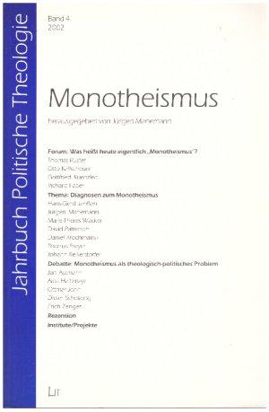Monotheismus Jahrbuch Politische Theologie Band 4 2002