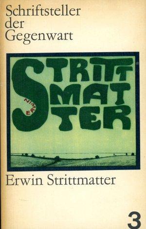 Erwin Strittmatter. Analysen, Erörterungen, Gespräche