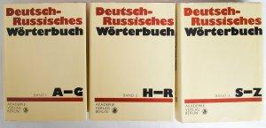 Deutsch-Russisches Wörterbuch, 3 Bände, 2. Auflage 1987