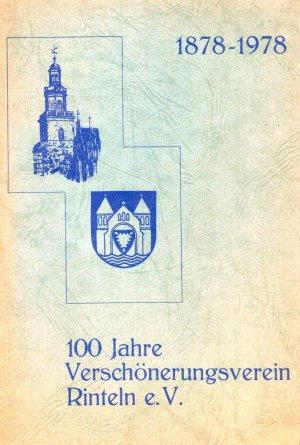 100 Jahre Verschönerungsverein Rinteln e.V. 1878-1978