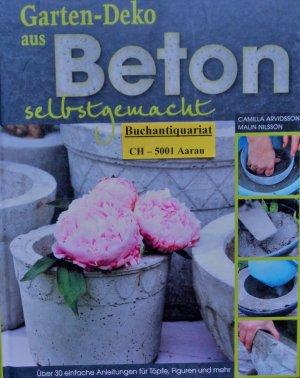 Gartendeko aus Beton selbstgemacht - Über 30 einfache Anleitungen ...