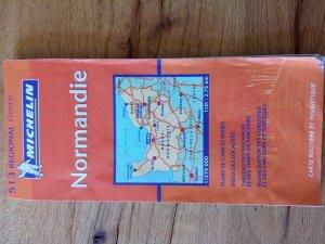 Cartes regional Michelin - NORMANDIE (nr. 513 der serie regional France) Landkarte