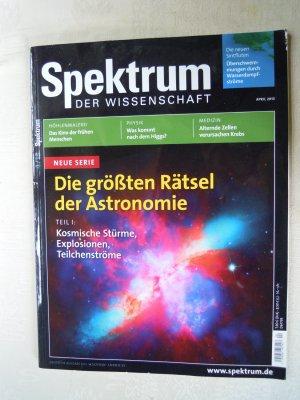 Spektrum der Wissenschaft 04/2013
