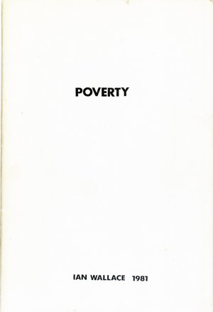 Bildtext: poverty von Ian Wallace