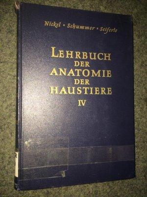 """Lehrbuch der Anatomie der Haustiere"""" (E Seiferle) – Buch gebraucht ..."""