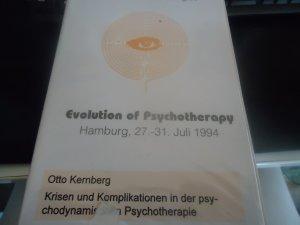 Evolution of Psychotherapy - Otto Kernberg - Krisen und Komplikationen in der pswychodynamsichen Psychotherapie - Kontressaufzeichnung