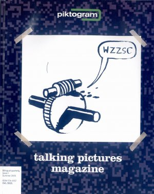 Bildtext: Piktogram : talking pictures magazine - Talking pictures magazine - Issue 1 - Summer 2005 von Wolinski, Michal