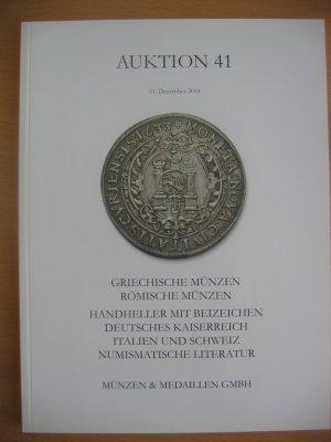 Auktion 41 Münzen Medaillen Gmbh Buch Gebraucht Kaufen