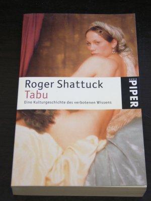 """""""Tabu"""" eine kulturgeschichte des verbotenen wissens"""