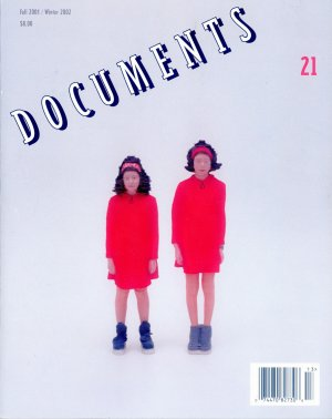 Bildtext: Documents no. 21 fall 2001 / winter 2002 - a journal of art, culture, and criticism von Thomas Crow, Andrew Perchuk, T. J. Clark, Mieke Bal, Paul Pfeiffer, Stefano Basilico, James Meyer, Daniel O'Ouinn, David Deitcher, Tom McDonough, Helen Molesworth, Rachel Harrison, Julian Myers