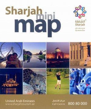 Bildtext: Sharjah Mini Map von Explorer