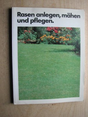 Gebrauchtes Buch U0026ndash; Bruno Leipacher U0026ndash; Mein Schöner Garten: Rasen  Anlegen, Mähen Vergrößern