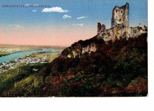 Ansichtskarte Königswinter, Burgruine Drachenfels (Nordrhein-Westfalen), um 1910/1920
