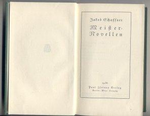 Meister Novellen