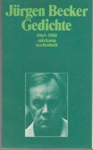Gedichte 1965 1980 Signiert Jurgen Becker Buch Signierte Erstausgabe Kaufen A02iu8nv01zzd