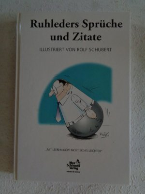 """Ruhleders Sprüche und Zitate"""" (Ruhleder Rolf H) – Buch gebraucht"""