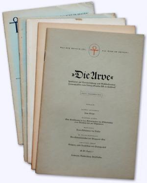 Die Arve Heft 1 Dez Imhof Johannes Und Verlag Graphia Ag