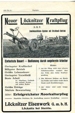Neuer Löcknitzer Kraftpflug Verm Deutsche Tageszeitung Berlin
