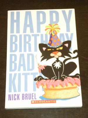 Gebrauchtes Buch Bruel Nick Happy Birthday BAD KITTY Vergrossern