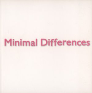 Bildtext: Minimal differences [exhibition dates: September 15 - October 23, 2010  location: White Box, New York] von Denise  Carvalho, Izabela Kopania, Monika Szewczyk