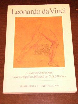 """ausstellungskatalog """"leonardo da vinci - anatomische zeichnungen aus der königlichen bibliothek auf schloß windsor"""""""
