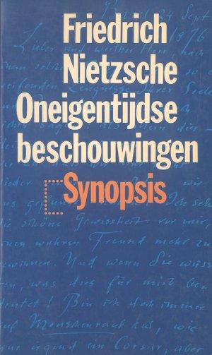 Bildtext: Oneigentydse beschouwingen von Friedrich Nietzsche