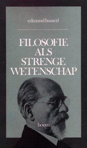 Bildtext: Filosofie als strenge wetenschap von Edmund Husserl, Ger Groot, Theo de Boer