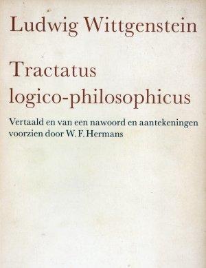 Bildtext: Tractatus logico-philosophicus -  Vertaald en van een nawoord en aantekeningen voorzien door W.F. Hermans von Ludwig Wittgenstein, Willem Frederik Hermans