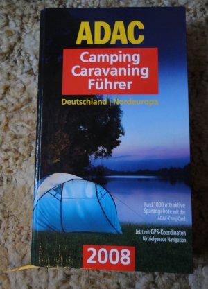 ADAC Camping Caravaning Führer Deutschland Nordeuropa 2008