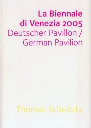 Bildtext: La Biennale di Venezia 2005 - Deutscher Pavillon von Thomas Scheibitz, Shaun Whiteside London, Julian Heynen, Tino Sehgal
