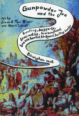 Bildtext: Gunpowder Joe and the Bunting, Beggarly, Brass Making, Brazen-faced, Brazen-hearted, Blackguard, Bustling, Booby, Birmingham Mob - One Day Comic EP8 von Henrik Schrat, Gavin Wade, Simon Bloor, Tom Bloor
