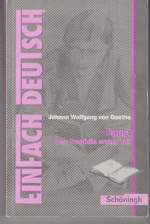 isbn 3140222785 einfach deutsch textausgaben johann. Black Bedroom Furniture Sets. Home Design Ideas