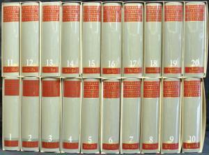 Kindlers neues Literatur-Lexikon., Herausgegeben von Walter Jens. 17 Bände A-Z und 3 Bände Register/Essays. 20 Bände. [Halblederausgabe].