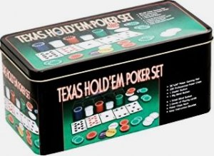 texas hold em poker set incl spiel gebraucht kaufen a02fslds41zzm. Black Bedroom Furniture Sets. Home Design Ideas