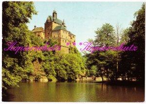 Burg Kriebstein (Kr. Hainichen), Farbfoto Frenzel, Ansichtskarte 1983 gelaufen
