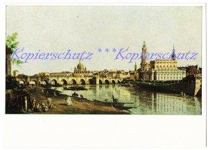 Dresden, vom rechten Elbufer, Gemäldegalerie Canaletto, VEB Verlag der Kunst