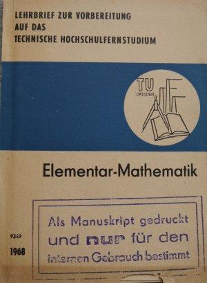 Elementar-Mathematik