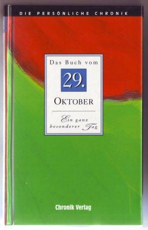 Das Buch vom 29. Oktober - Die persönliche Chronik - Skorpion