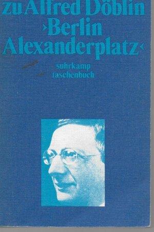 Materialien Zu Alfred Doblin Berlin Alexanderplatz Matthias Prangel Buch Erstausgabe Kaufen A02jqtyk01zzx