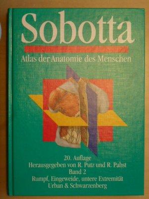 """Sobotta, Atlas der Anatomie Band 2 - Innere Organe"""" (R Putz R ..."""