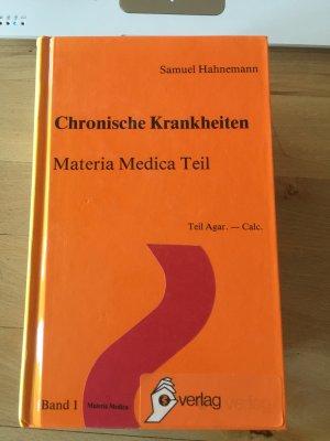 Chronische Krankheiten, Materia Medica Teil 1