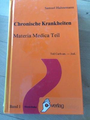 Chronische Krankheiten, Materia Medica Teil 2