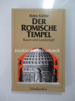 Der römische Tempel - Raum und Landschaft