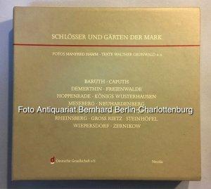 Schlösser und Gärten der Mark (Kassette mit sechzehn Heften cplt.)