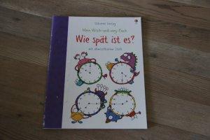 Mein Wisch-und-weg-Buch: Wie spät ist es? - mit abwischbarem Stift